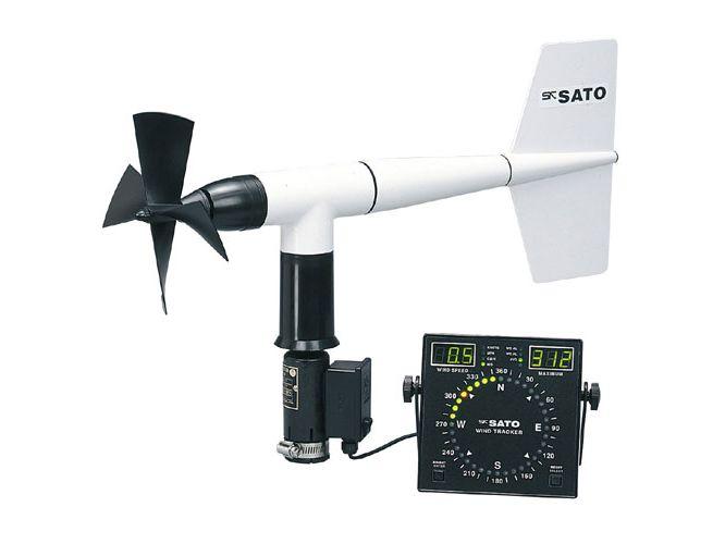 ヤング・デジタル風向風速計 (一財)気象業務支援センター検定付