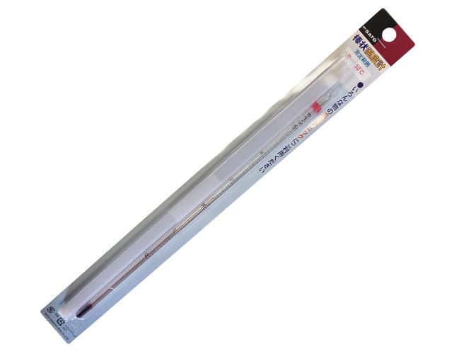 アルコール棒状温度計