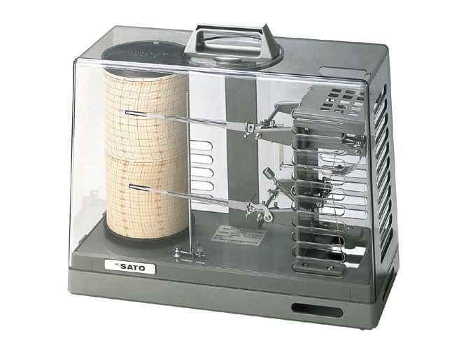 シグマⅡ型温湿度記録計