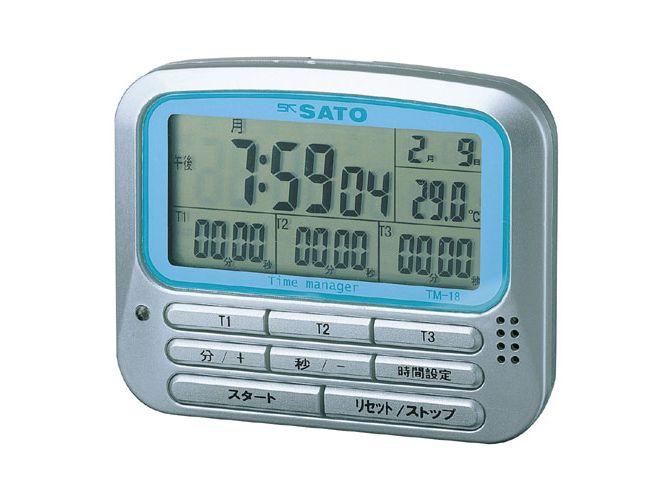 多機能タイマー(温度付)