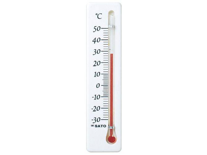 冷蔵庫用温度計ミニ 縦型