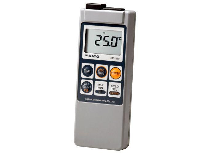 メモリ機能付防水型デジタル温度計