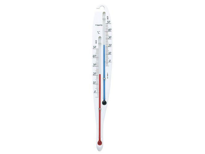 S型地温気温計 2段