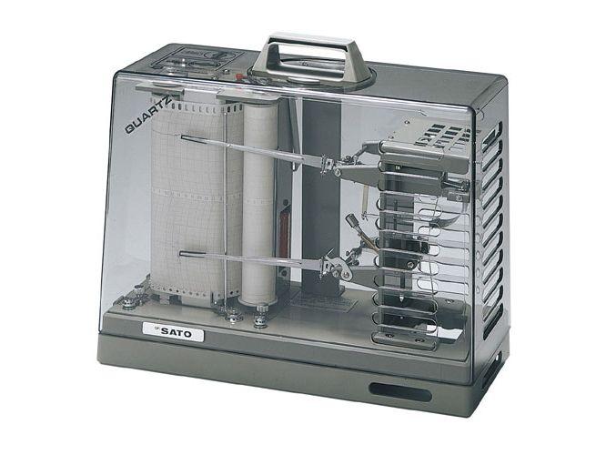 オーロラ90Ⅲ型温湿度記録計