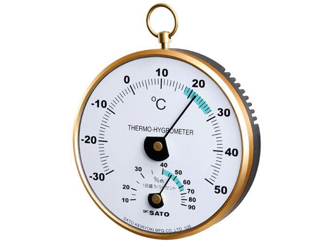 φ100温湿度計