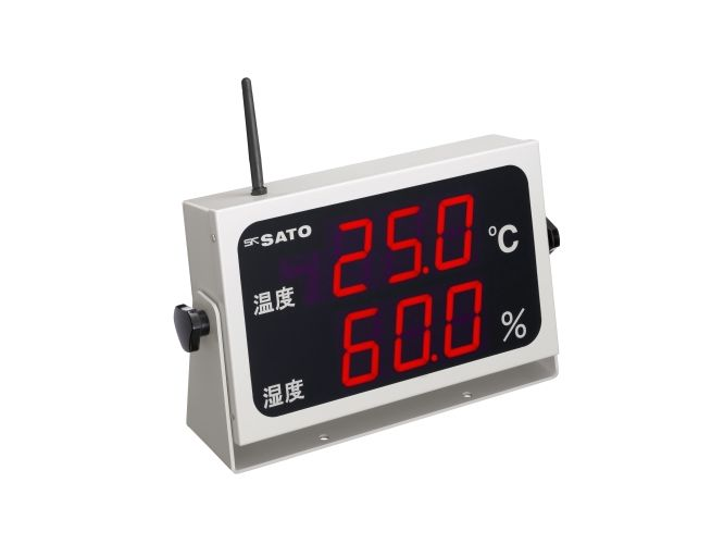 コードレス温湿度表示器
