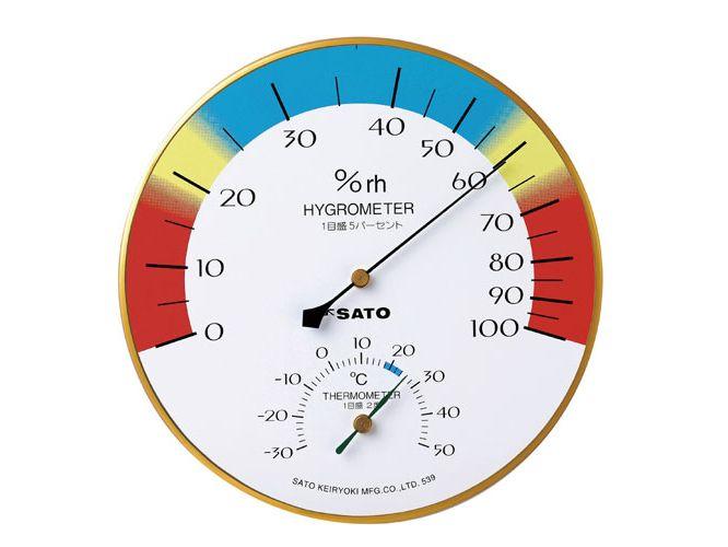メロディー温湿度計