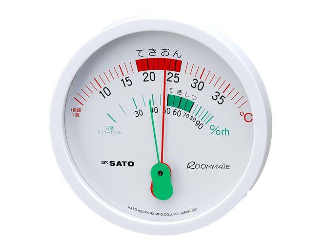 ルームメイト温湿度計