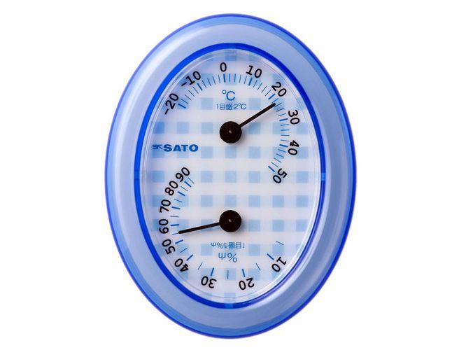 アクリス温湿度計