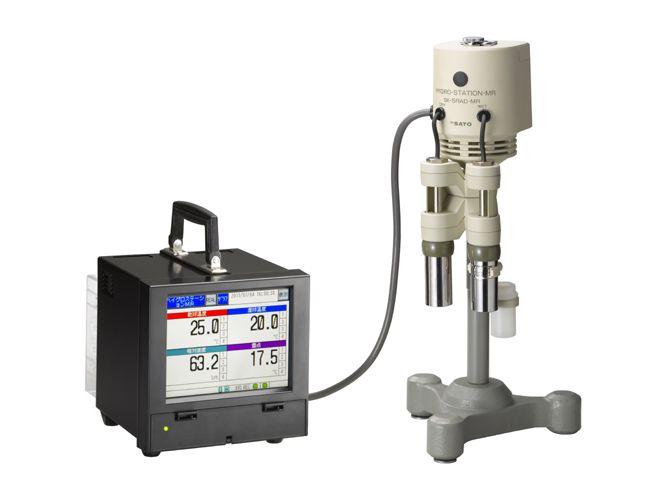 ペーパーレス温湿度記録器 ハイグロステーションMR