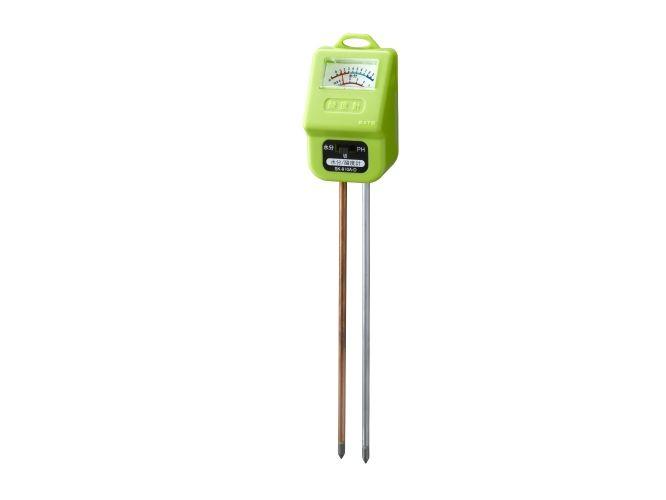 土壌用酸度計(水分計付)