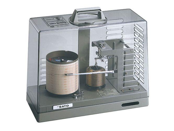 シグマⅡ型気圧記録計