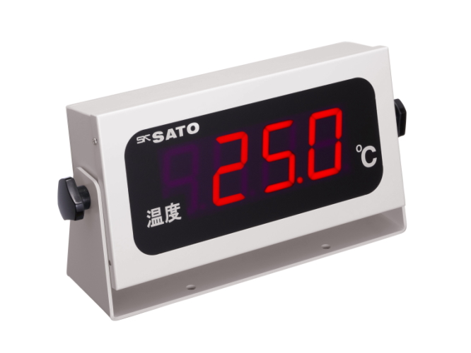 温度表示器