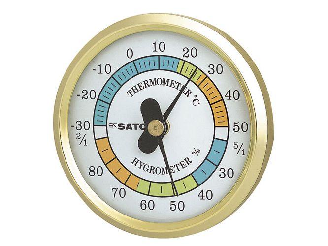 φ65温湿度計