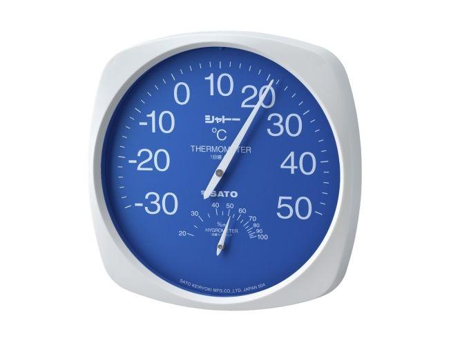 シャトー温湿度計